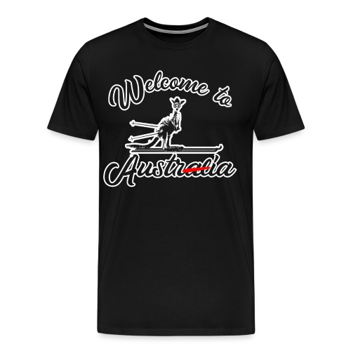 Welcome To Austria - Männer Premium T-Shirt