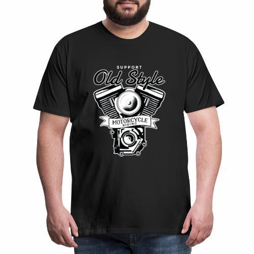 OLD STYLE BIKE - Männer Premium T-Shirt