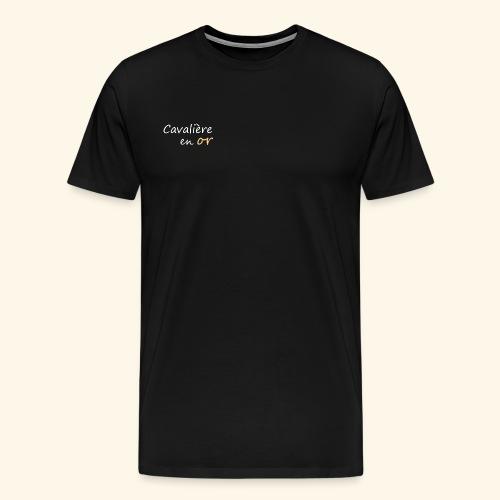 Cavalière en or - T-shirt Premium Homme