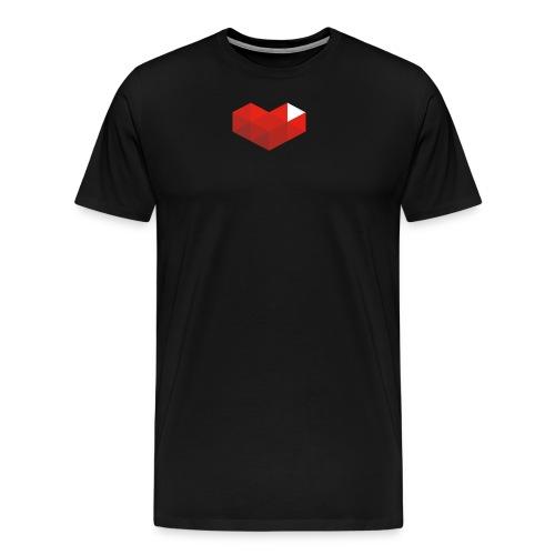 Gaming Heart - Camiseta premium hombre