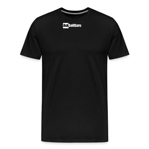 Mark Crossfield AskGolfGuru Let's get stuck in T - Men's Premium T-Shirt