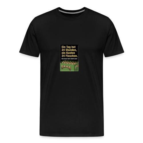 Bauern Sprüche - Männer Premium T-Shirt