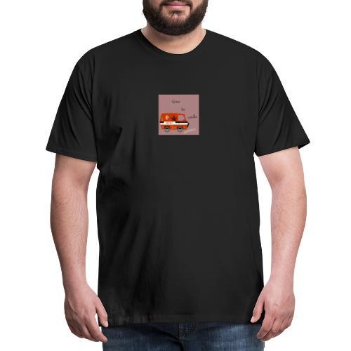 peace and love - Camiseta premium hombre
