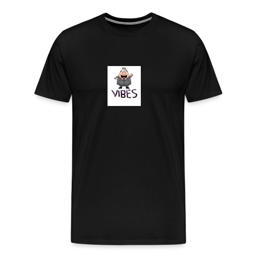 BossVibes version 3 - Herre premium T-shirt
