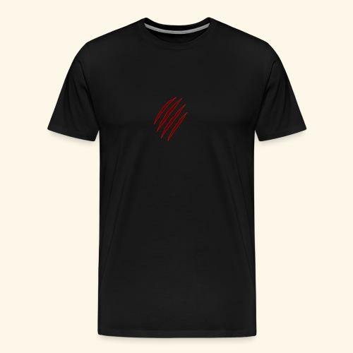 garras - Camiseta premium hombre