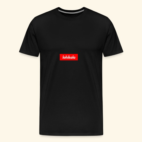 Lohikala - Miesten premium t-paita