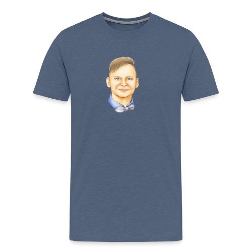 Pstaffan Webbsemla - Premium-T-shirt herr