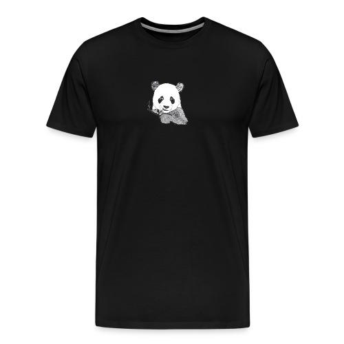 Fröhlicher Pandabär - Männer Premium T-Shirt