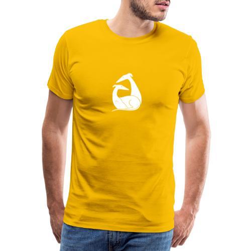 Windhundpaar - Männer Premium T-Shirt