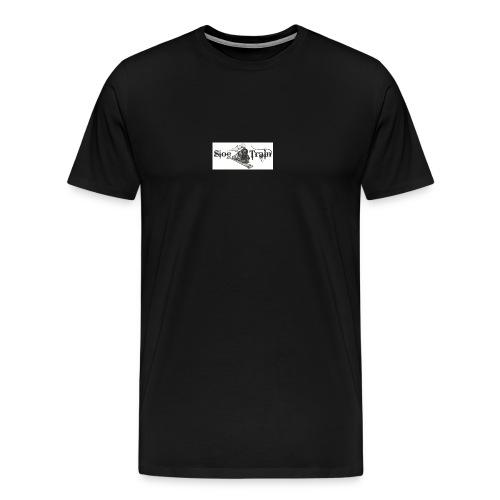 sloe tain logo jpg - Men's Premium T-Shirt
