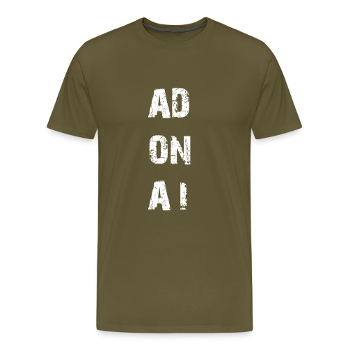 AD ON AI - Männer Premium T-Shirt