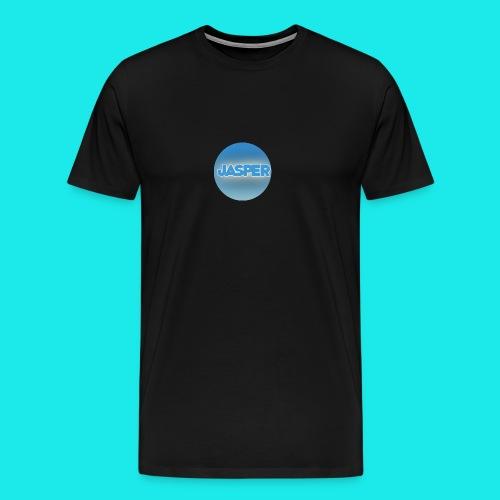 Logo Jaspe rondr png - Mannen Premium T-shirt