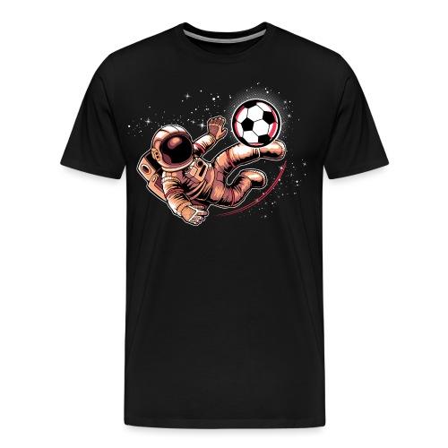 Astronaute football - T-shirt Premium Homme