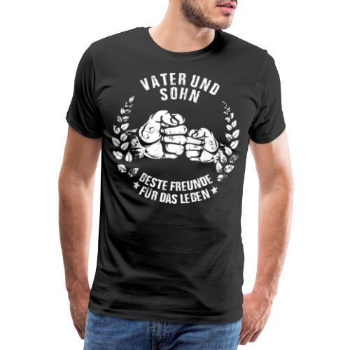 Vater und Sohn beste Freunde für das Leben - Männer Premium T-Shirt