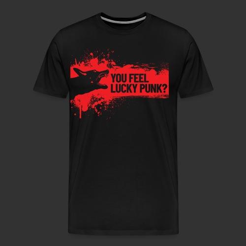 K9 Punk - Miesten premium t-paita
