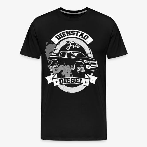 Dienstag for Diesel Fridays for Hubraum Klimakrise - Männer Premium T-Shirt