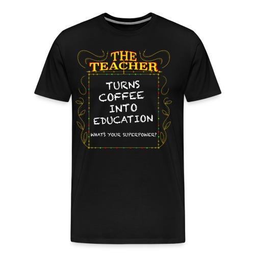 The Teacher - Men's Premium T-Shirt