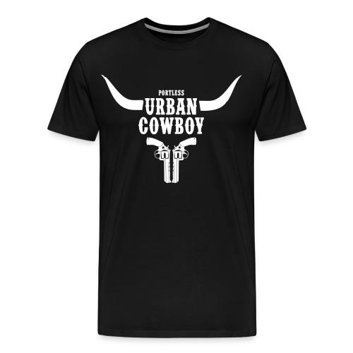 Portless Urban Cowboy - Männer Premium T-Shirt
