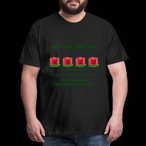 Advent-Countdown 2 - Männer Premium T-Shirt