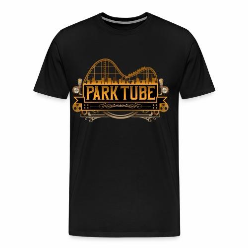 ParkTube Steampunk Logo - Männer Premium T-Shirt