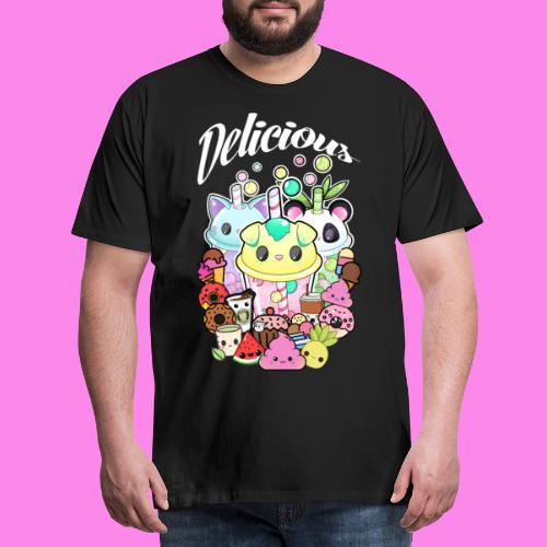 Kawaii - Sweets - Männer Premium T-Shirt
