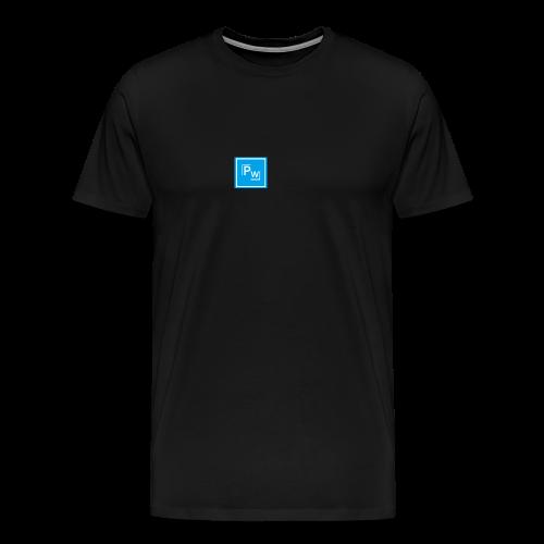 PW - Political Wear logo - Premium-T-shirt herr