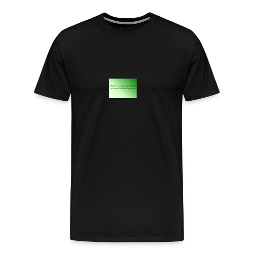 Haekeln Haken - Männer Premium T-Shirt