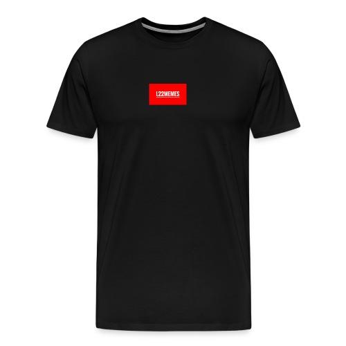 Boi du härmar Supremé - Premium-T-shirt herr