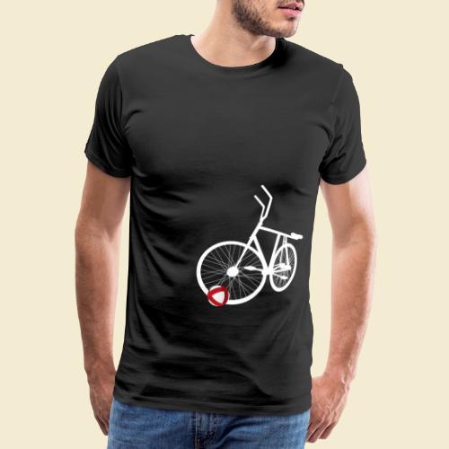 Radball   White - Männer Premium T-Shirt