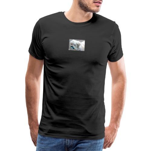 dog with dummy - Men's Premium T-Shirt