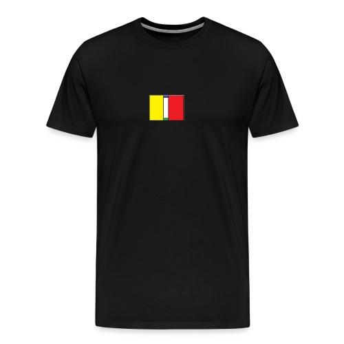 T-shirt logo 1 - Mannen Premium T-shirt