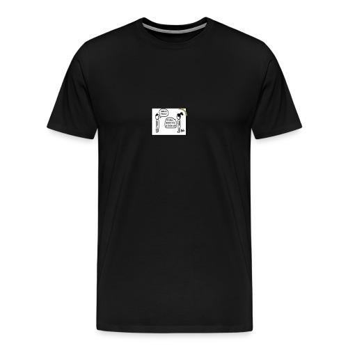 stronzate2 - Maglietta Premium da uomo