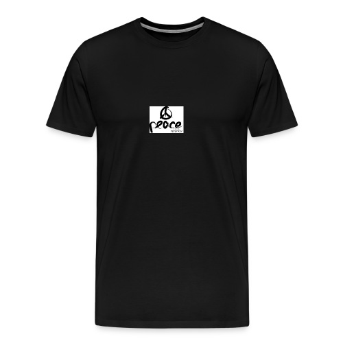 Peace-therapy-recordzz-mode - Männer Premium T-Shirt