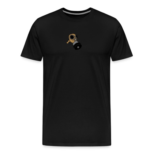 Gasmaske poison gas mask fallout giftgas BondageSM - Männer Premium T-Shirt