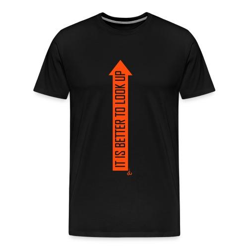Look Up_dit - Men's Premium T-Shirt