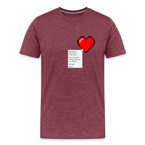 Options of the heart - Herre premium T-shirt
