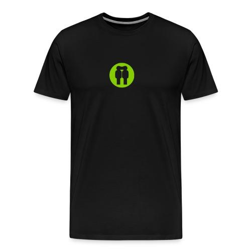 logoOnlybw - Männer Premium T-Shirt