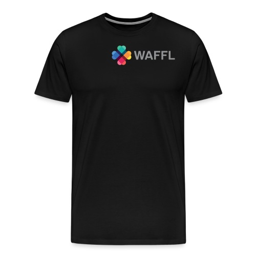 WAFFL_IMAGE_LOGO_NO_BG (1 - Men's Premium T-Shirt