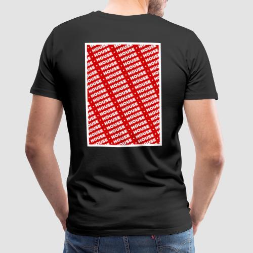 House red - Camiseta premium hombre