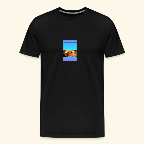chilling with frileedake1 - Men's Premium T-Shirt