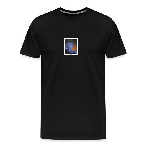 Wavy - Männer Premium T-Shirt