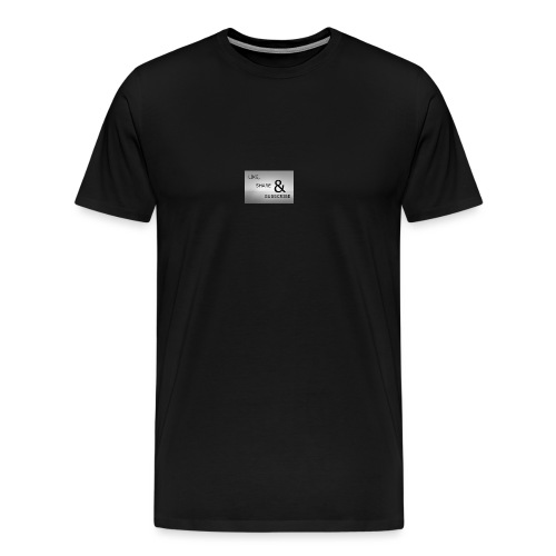 like & SHARE - Men's Premium T-Shirt
