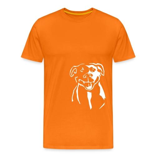 Staffordshire Bull Terrier - Miesten premium t-paita