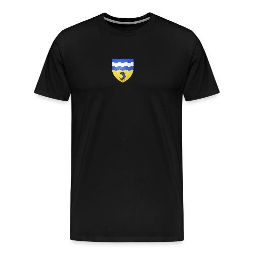 Blason département fr Isère svg png - T-shirt Premium Homme