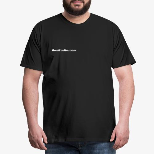BozRadio URL Logo - Men's Premium T-Shirt