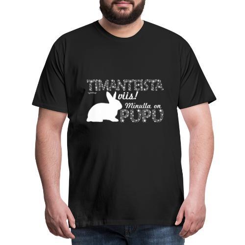 Pupu Dimangi - Miesten premium t-paita
