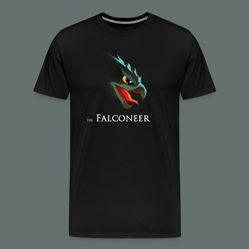 Falconeer FalconHead - Mannen Premium T-shirt