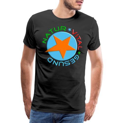 Natur-vital-gesund - Männer Premium T-Shirt