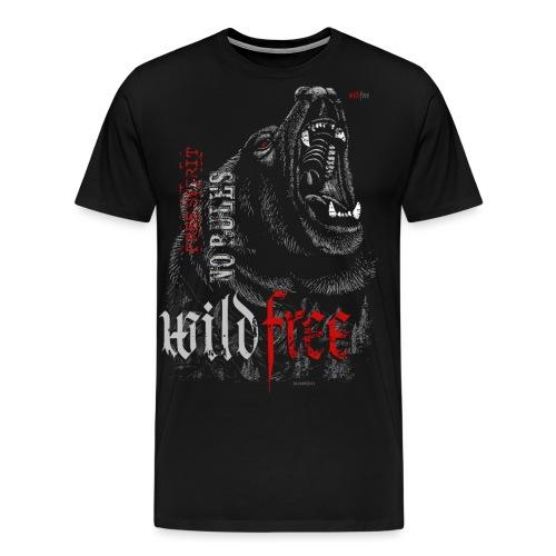 WILDFREE | BEAR - Männer Premium T-Shirt