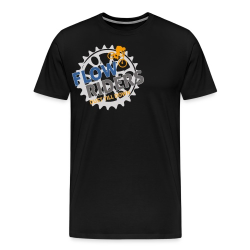 FLOWRIDERS - dust till down - Männer Premium T-Shirt